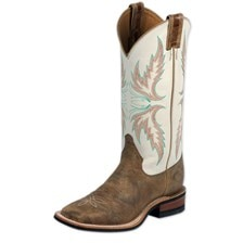 Justin Women's Bent Rail Boots- Uvalde Tan