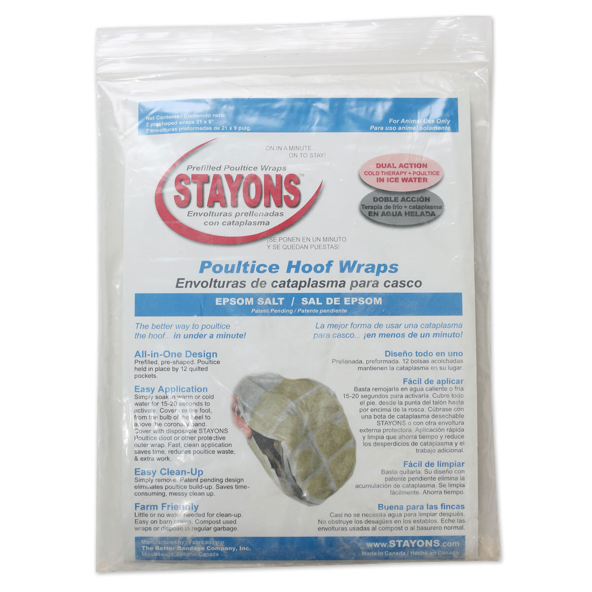 Stayons™ Poultice Hoof Wrap
