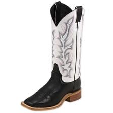 Justin Women's Bent Rail Boots- Albany Black