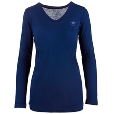 Piper V-Neck Long Sleeve Tee by SmartPak