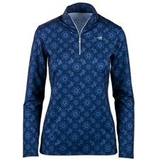 SunShield Printed Long Sleeve 1/4 Zip by SmartPak