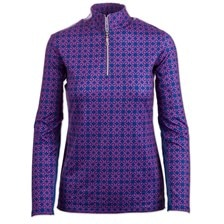 SunShield Printed Long Sleeve 1/4 Zip by SmartPak - Clearance!