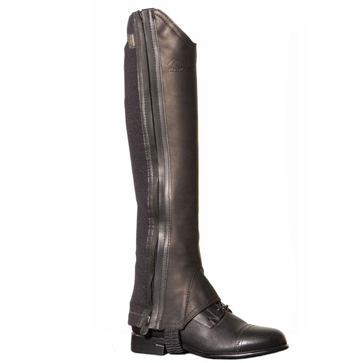 ProChaps Fit Leather Half Chaps