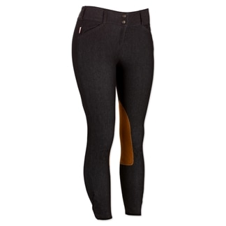 The Tailored Sportsman Denim Knee Patch Breech - Retired Colors