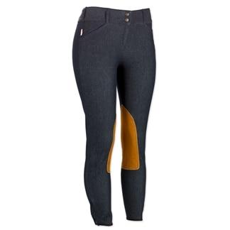 The Tailored Sportsman Denim Knee Patch Breech