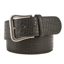 The Tailored Sportsman Croc Leather Belt