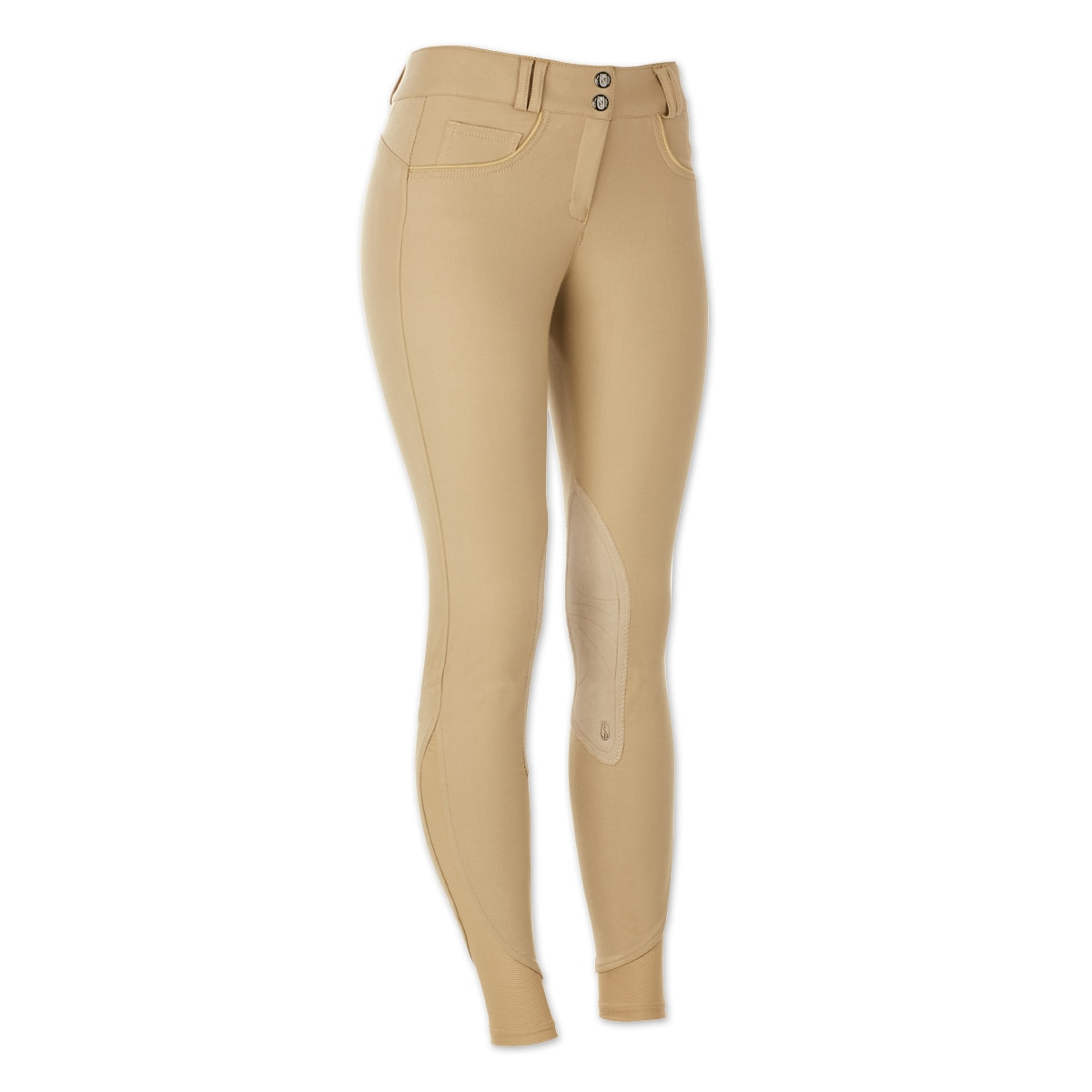 Tredstep Symphony Rosa II Knee Patch Breech- Front Zip - Clearance!