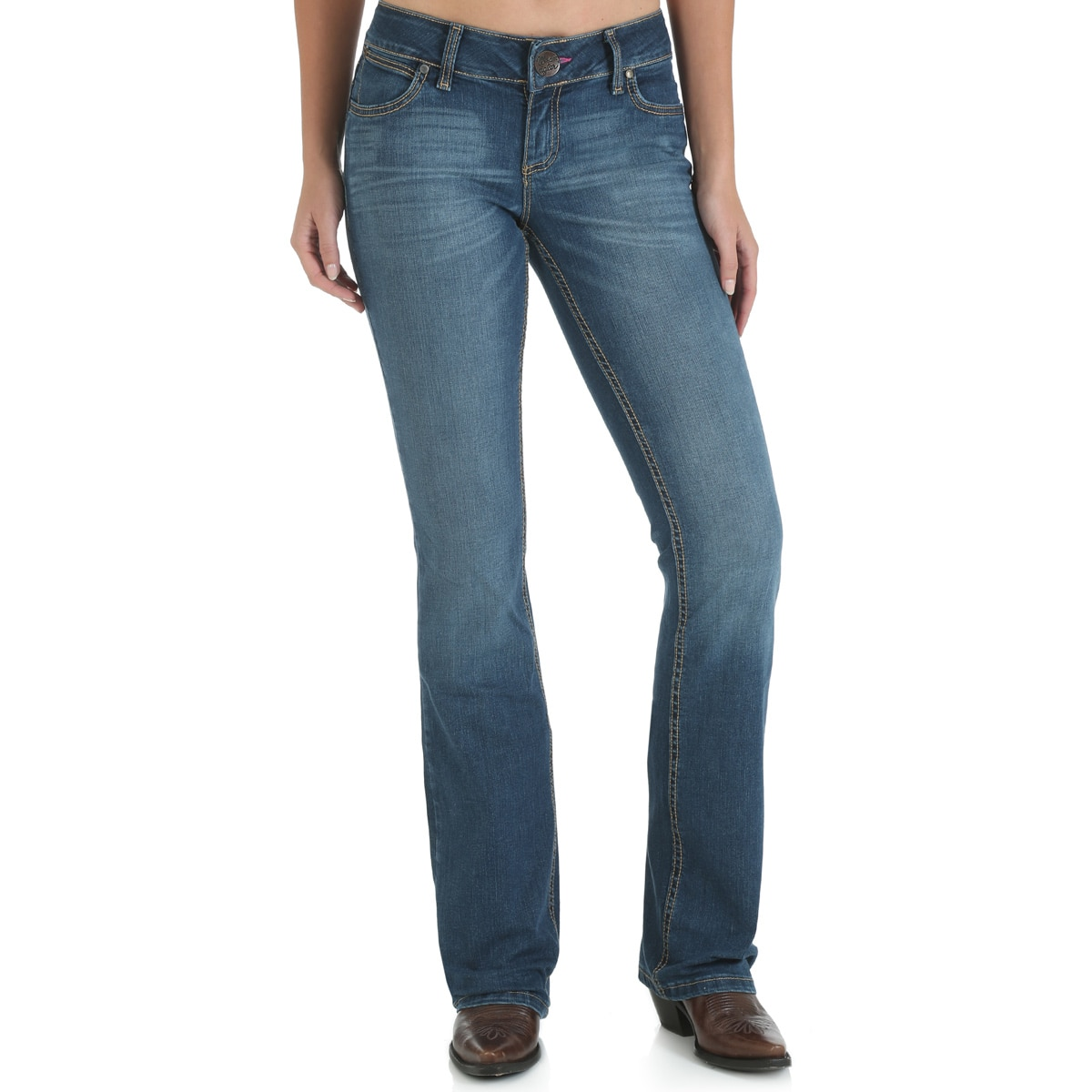 Wrangler® Retro® Mae Jean With Booty Up® Technology - MT Wash