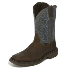 Justin Men's Stampede Collection Amarillo Slate - Waterproof