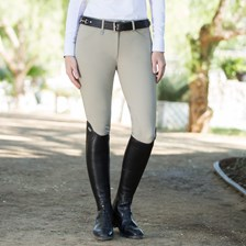 Horze Grand Prix Silicone Grip Knee Patch Breech