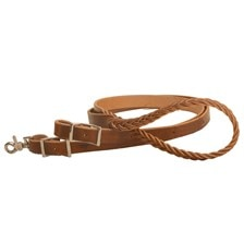 Tory Leather Harness Leather Roping Reins