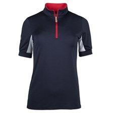 Kastel Signature 1/4 Zip Short Sleeve Sun Shirt