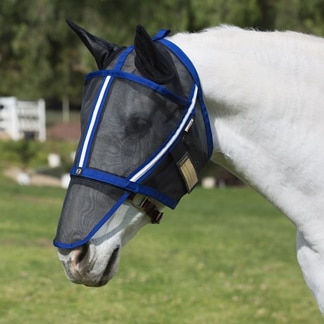 Noble Outfitters™ Guardsman™ Fly Mask with Ears - Made Exclusively for SmartPak