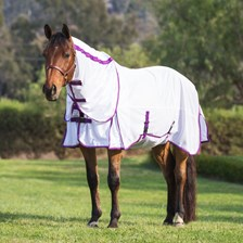 TuffRider Power Mesh Detachable Neck Fly Sheet Exclusively Made for SmartPak
