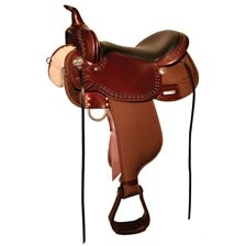 High Horse Willow Springs Cordura Saddle - Test Ride Clearance!