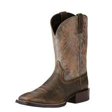 Ariat Men's Sport Wide Square Toe - Brooklyn Brown