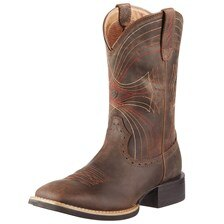 Ariat Men's Sport Wide Square Toe - Distressed Brown