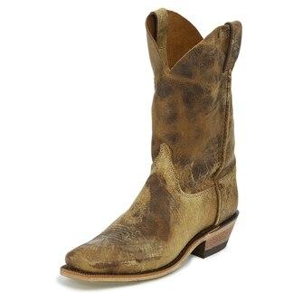 Justin Men's Bent Rail Shawnee Boots - Tan Road