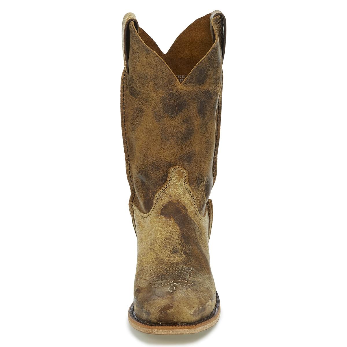 5933ced6a12 Justin Men's Bent Rail Shawnee Boots - Tan Road