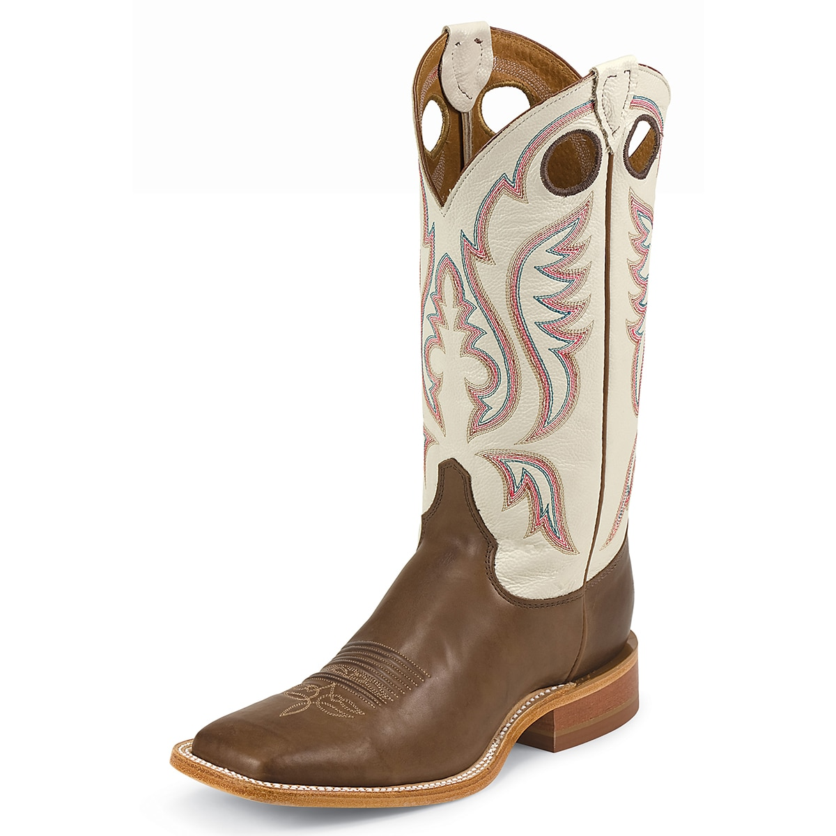 Justin Men's Bent Rail Stillwater Boots - Chocolate