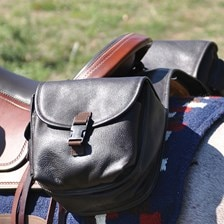 Cashel Leather Large Rear Saddle Bag