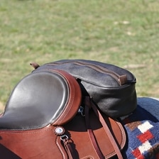 Cashel Leather Cantle Bag