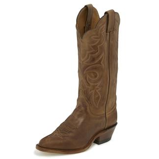 Justin Women's Bent Rail Utopia Boots - Arizona Mocha