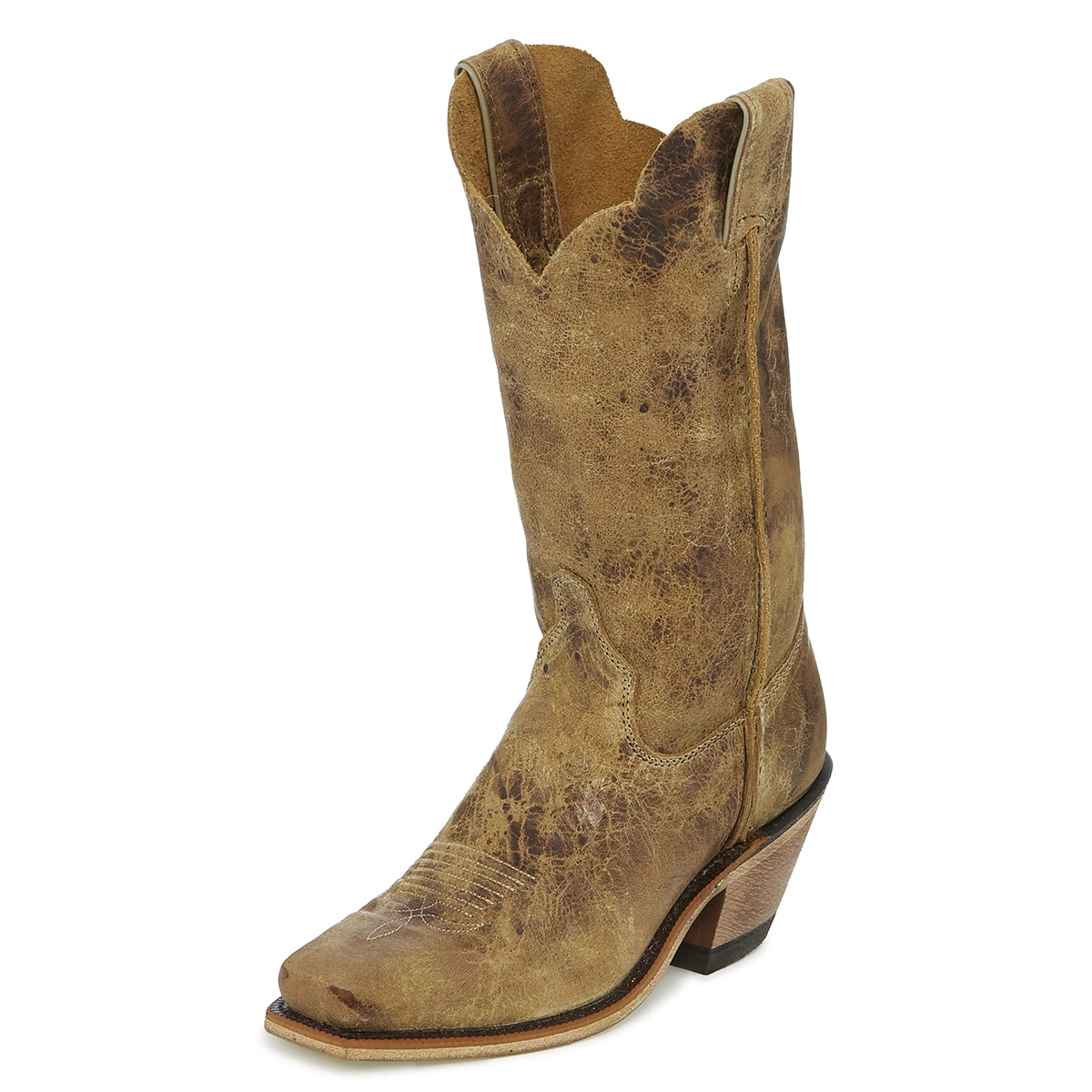 Justin Women's Bent Rail Wildwood Boots - Tan Road
