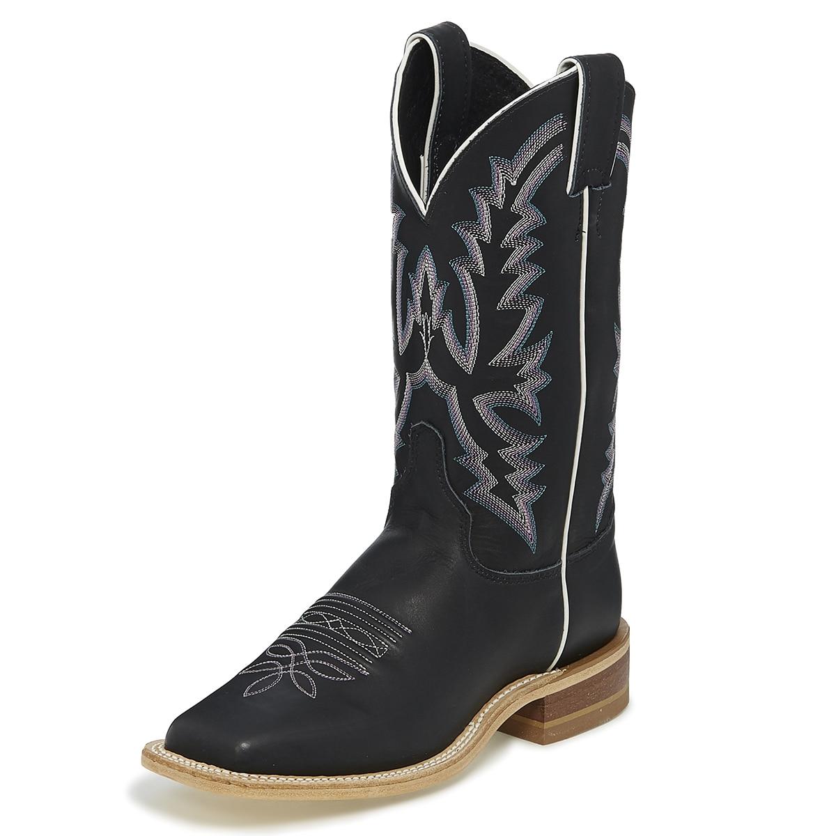 Justin Women's Bent Rail Kenedy Boots - Black