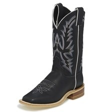 Justin Women's Bent Rail Kenedy Boots - Black