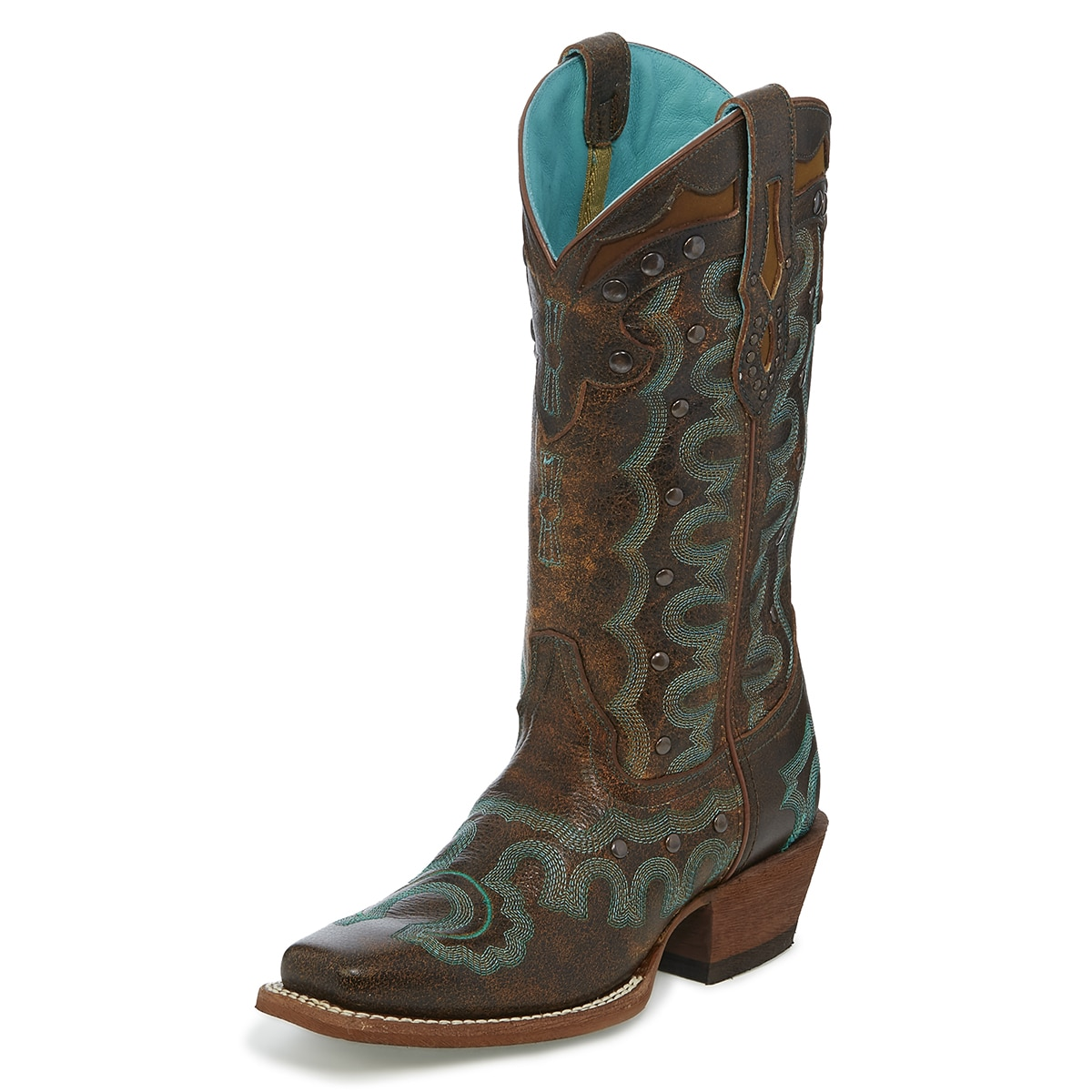 Justin Women's Fashion Faxon Boots - Chocolate