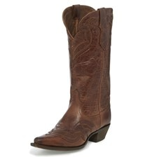 Justin Women's Fashion Nadya Boots - Maple