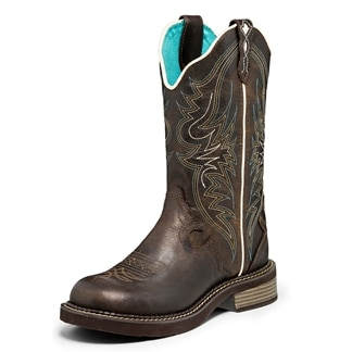 Justin Women's Gypsy Lily Boots- Chocolate