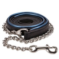 SmartPak Metallic Soft Padded Leather Lead