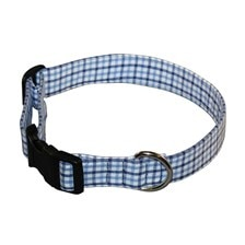 SmartPak Blue Gingham Collar