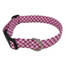 SmartPak Pink Check Collar