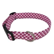 SmartPak Pink Check Collar