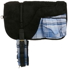 Kensington Fleece Bareback Pad With Pockets Made Exclusively for SmartPak - Clearance!