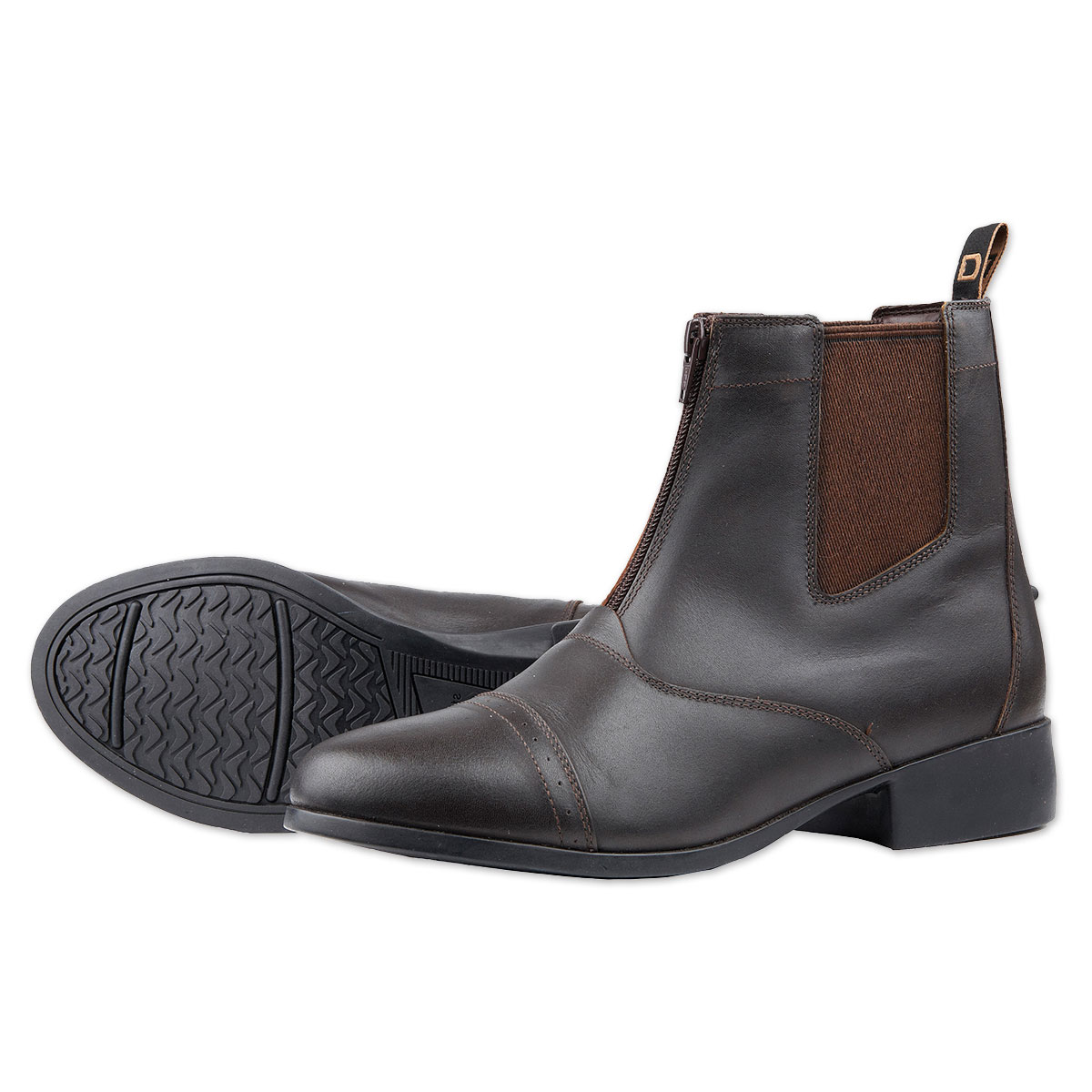 Dublin Foundation Kids Zip Paddock Boots