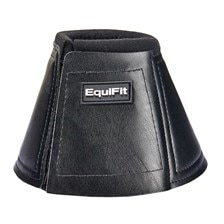 EquiFit Bell Boot With Rolled Fleece Top