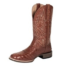 Noble Outfitters™ Men's Genuine Ostrich All-Around Square Toe Duke