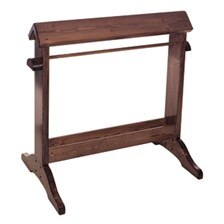 Standing Wood Saddle Stand