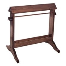 Standing Wood Saddle Stand