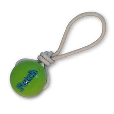 Orbee-Tuff® Fetch Ball with Rope Dog Toy