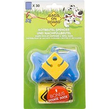 Bags On Board® Waste Pick-Up Dispenser & Refill Bags with Dookie Dock™