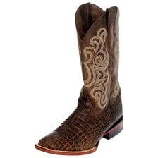 Ferrini Men's Print Caiman Belly Boots