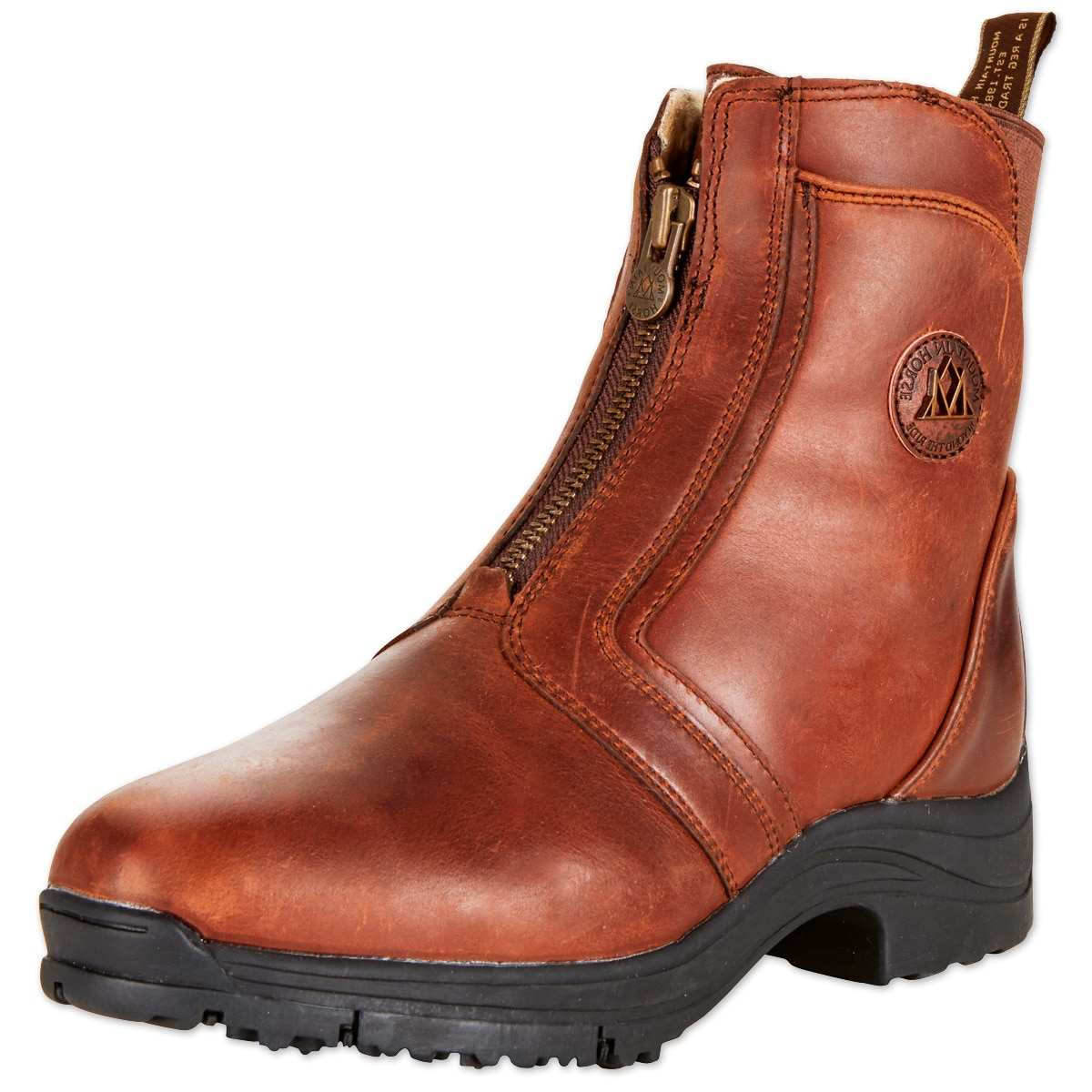 8ea331f00f57 Mountain Horse Snowy River Zip Paddock Boot