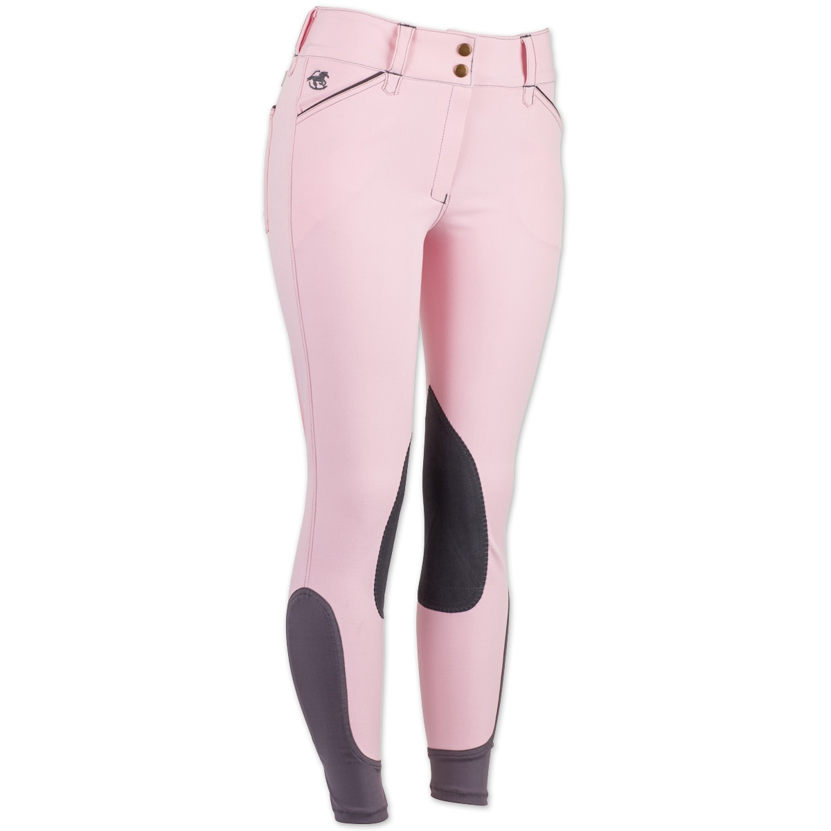 Piper Breeches by SmartPak- Breast Cancer Awareness Knee Patch