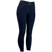 Piper Breeches by SmartPak- Denim Full Seat