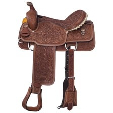 Tough 1 Maverick Calf Roper Saddle